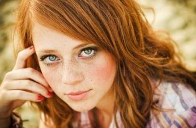 Фото зеленоглазых и рыже волосых девушек